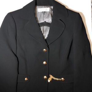 Like new Tahari black blazer